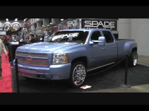 2008 Chevy Silverado 3500HD Dually on 24's