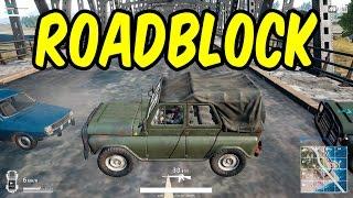 Roadblock stops all the enemies - Battlegrounds Full Game 2