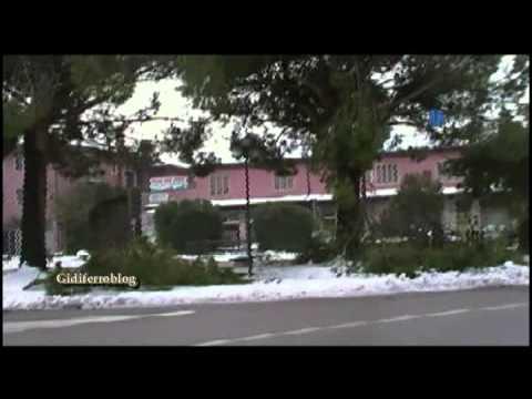 Mira, danni dopo la nevicata del 11 Febbraio 2013