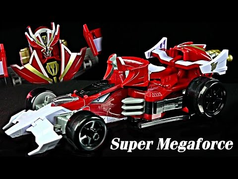 Turbo Falcon Megazord Review & Comparison! (Power Rangers Super Megaforce)