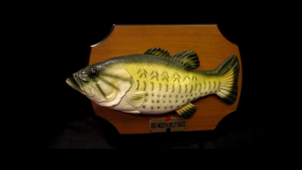 Gemmy Billy Bass Animatronic Fish Singing Quot Don T Worry Be