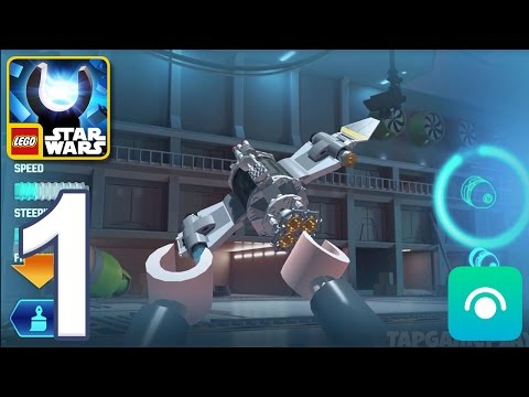 LEGO Star Wars Force Builder - Gameplay Walkthrough Part 1 - Padawan (iOS, Android)