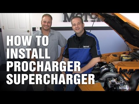 How-To Install a ProCharger Supercharger