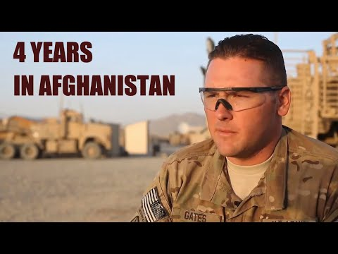 Sergeant Gates: 4 years on in Afghanistan