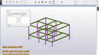 Tekla Structures 2017 Cơ bản - 01