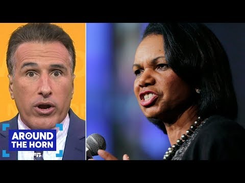 Isola: Condoleeza Rice would be great for the Browns' organization | Around the Horn