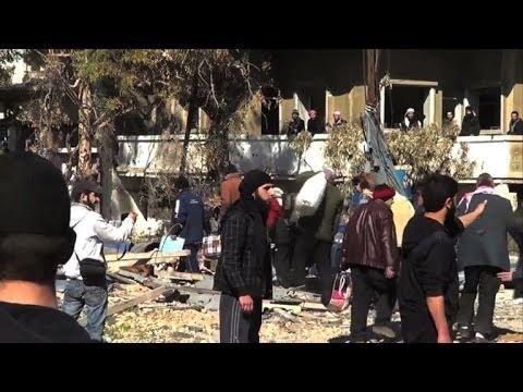 Besieged civilians in Syria's Homs receive UN aid