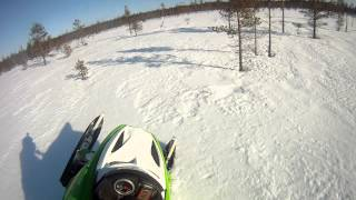 Ski-Doo Rev 440/800 mod playing around GoPro HD