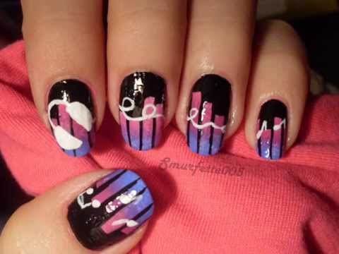 Country music nail art images nail art contest music prinsesfo Gallery