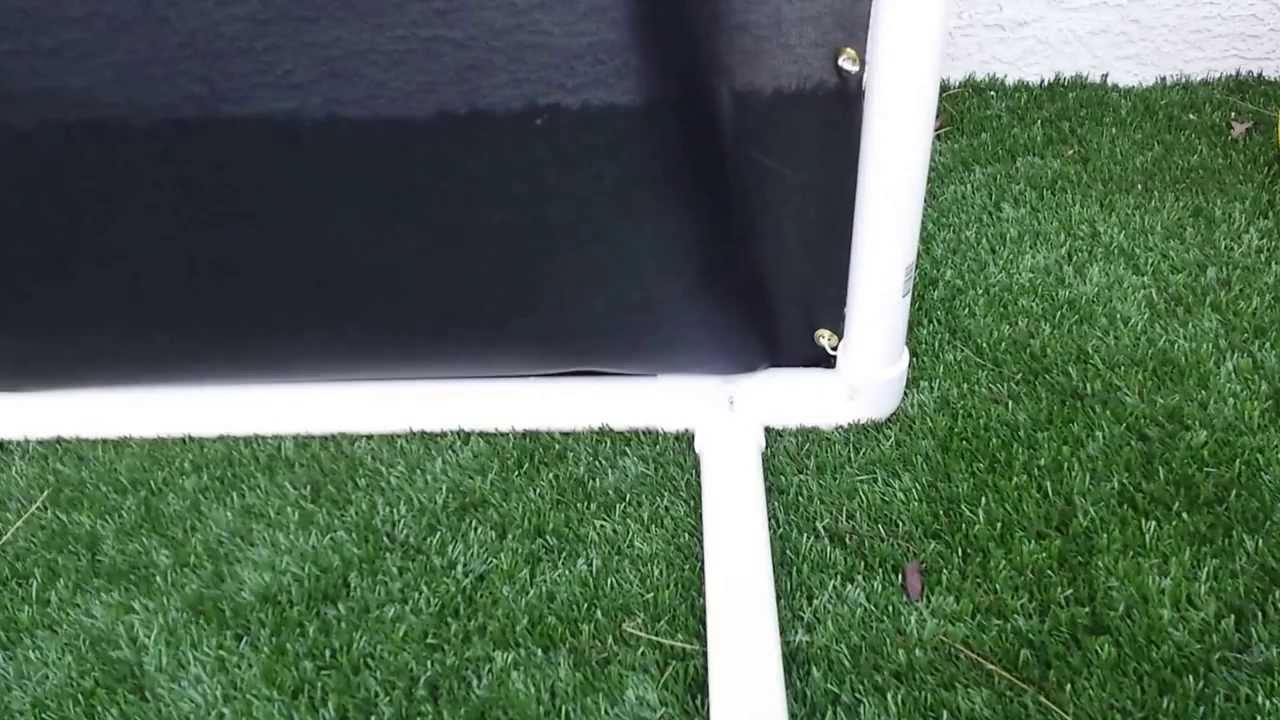 diy golf net homemade indoor outdoor golf net youtube