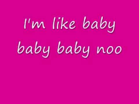 Justin bieber baby Lyrics (download link)