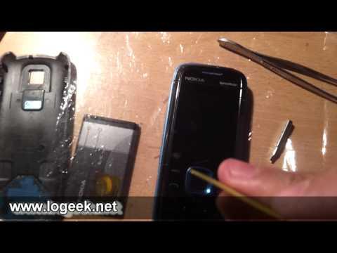 Desarmando y Reparando un Nokia 5130 XpressMusic - FIX - www.logeek.net