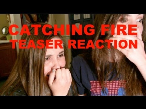 CATCHING FIRE TEASER TRAILER REACTION