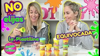 NO ELIJAS LA PLASTILINA EQUIVOCADA SLIME! Don't Choose the Wrong Play Doh Slime