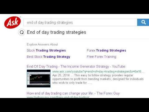 Day trading with options strategy