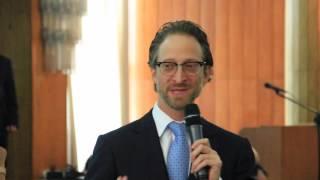 Bruno Garfinkel palestra em almoço do CSP-SP