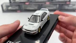 Hobby Japan 1:64 SUBARU IMPREZA WRX (GC8) Type RA Sti Version Feather white