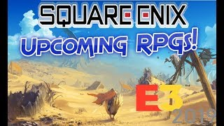 Upcoming RPG News from Square Enix 2019-2020