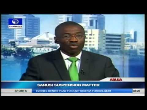 Sanusi's Removal is Against CBN's Act -- Lawmaker