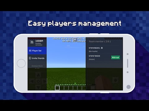 CREATE YOUR OWN SERVER FOR FREE USING Multiplayer Master for MCPE   MINCERAFT PE  ( POCKET EDITION )