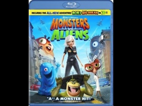 Previews From Monsters Vs. Aliens 2009 Blu-Ray (Now In Good Quality)