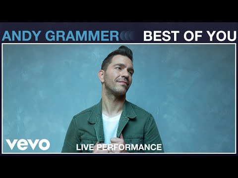 """Andy Grammer - """"Best of You"""" Live Performance 