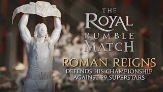 WWE Royal Rumble 2016– THIS SUNDAY (INTL)