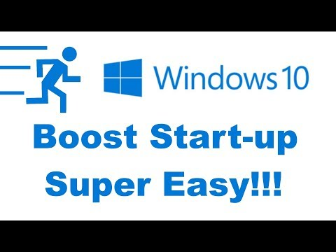 ✅ How to Make Windows 10 Boot Up Faster [Tutorial 2018]