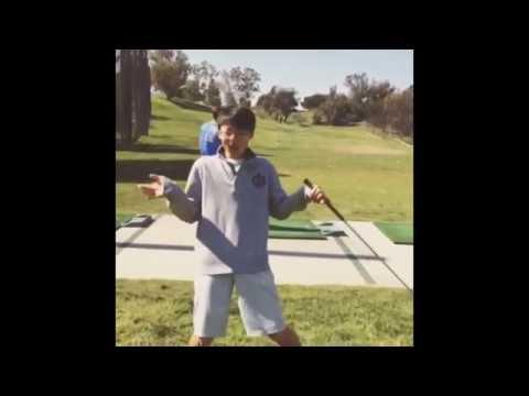 Golf Trick Shot by The Webb Schools Golf Team - 03/26/2014