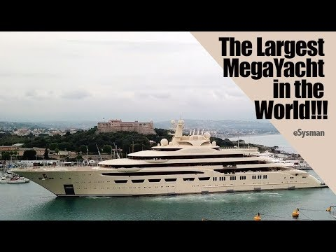 Download Lagu  Largest MegaYacht in the World!!!!:  Dilbar Mp3 Free