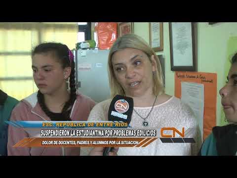"""Suspendieron la """"Estudiantina"""" por problemas edilicios"""