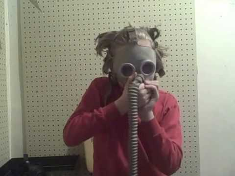 gas mask time! Video