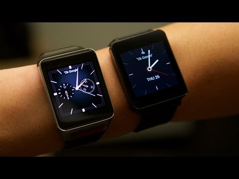 Comparing New Android Wear Smartwatches