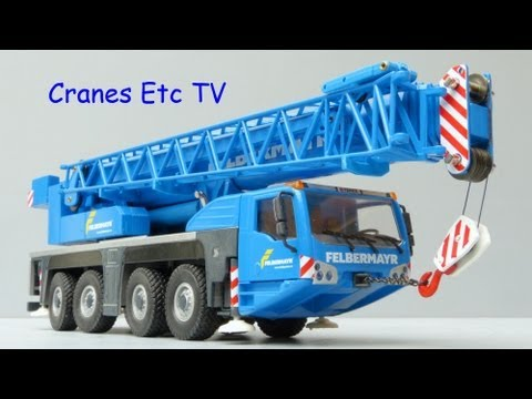 Conrad Terex AC 100/4L Mobile Crane by Cranes Etc TV