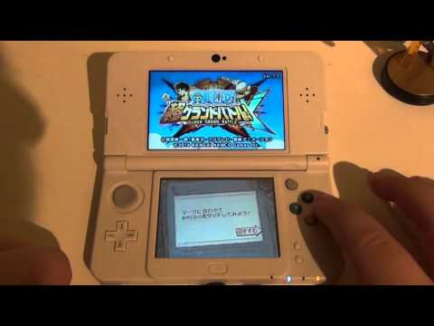 [One Piece: Super Grand Battle X] Amiibo Functionality Footage