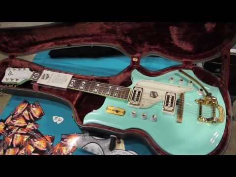 Jims Guitars / Arlington Guitar Show 2010 / VintageandRareTV
