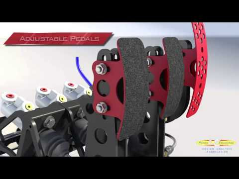 Racing Pedal Box by Perusic Engineering
