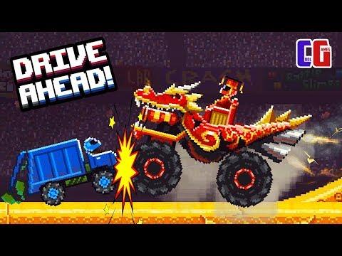 Drive Ahead БИТВА С МЕГА-ДРАКОНОМ! Рейд на БОССА Новый режим Мультяшная игра Драйв Ахед от CoolGAMES