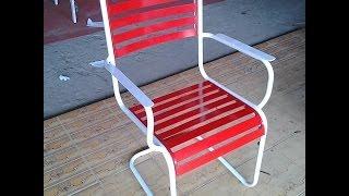 Ghế Sắt Vaca được Minh Thy Furniture thiết kế và sản xuất