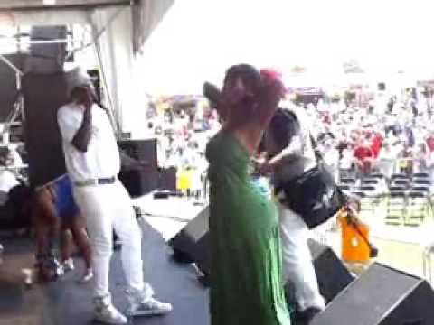 SISSY NOBBY,KATEY RED, BIG FREEDIA, @ JAZZ FEST 2009