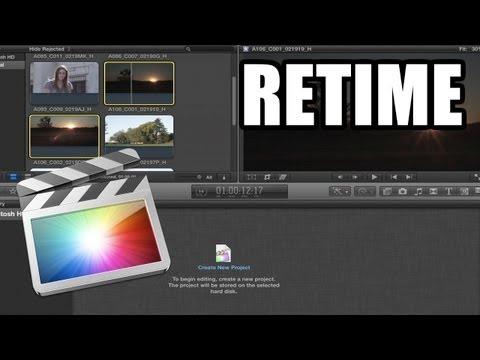 Final Cut Pro X - #22: Slow Motion, Fast Forward y Freeze Frame