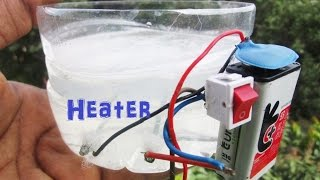 How To Make a water Heater - Battery Water Heater