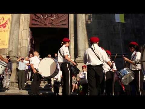 Fanfarra da Associa��o Recreativa de Canidelo na festa do Senhor da Boa Fortuna . 2013