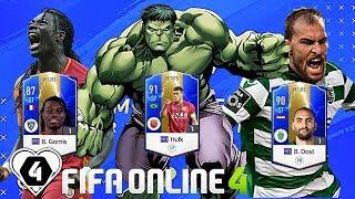 FIFA Online 4 | Review Trải Nghiệm Nhanh Mùa 19TOTS: Gã Khổng Lồ Hulk - Gomis - B. Dost