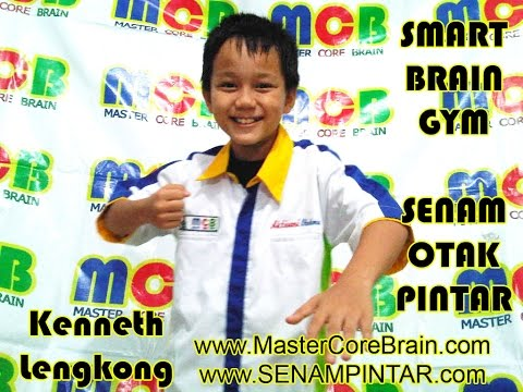 Senam Otak -brain Gym -mastercorebrain -kenneth Lengkong -maret 2012 video