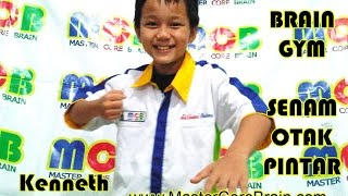 SENAM OTAK SENAM PINTAR NEW BRAIN GYM 2017 - Kenneth Lengkong MCB Indonesia