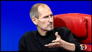 Steve Jobs talking about Apple TV at D8 conference