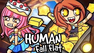 All the GOLD is mine in Human Fall Flat!