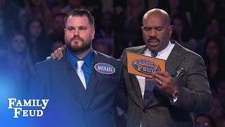 15 points with his last answer? | Family Feud