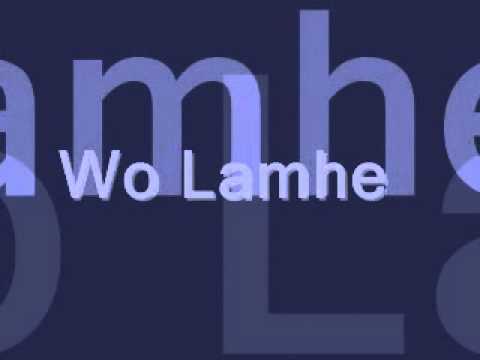 Woh lamhe (JAL) karaoke sing along